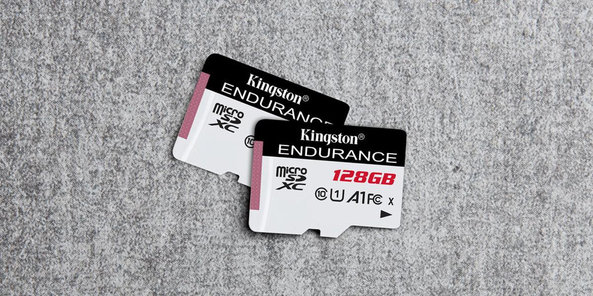 High Endurance microSD cards