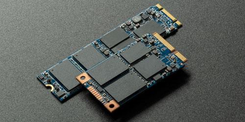 M.2- und mSATA-SSDs