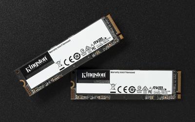 SSD NVMe Kingston installato su un PC