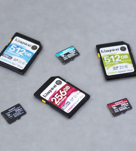 Kingston SD and microSD cards