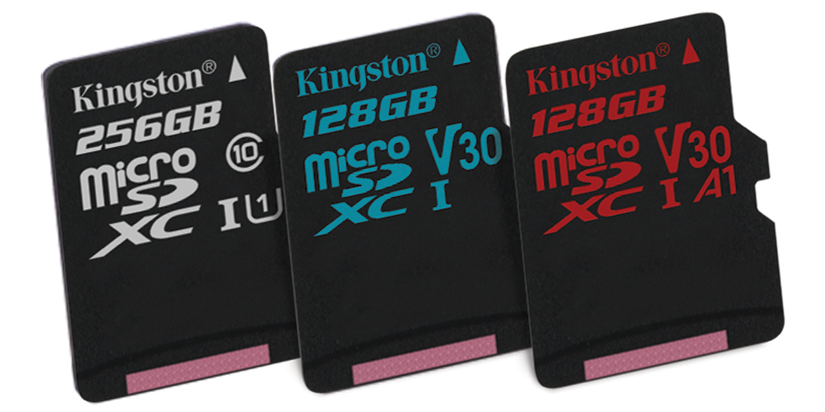 Familia de tarjetas de memoria Flash de Kingston