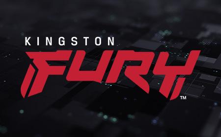 게임용 PC에 설치된 Kingston FURY 메모리 및 SSD
