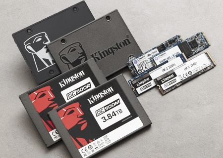 Kingston Enterprise and Consumer SSDs