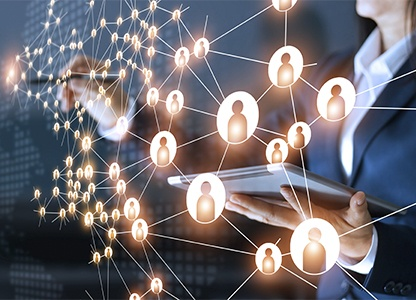 เส้นแบ่งเครือข่ายทางสังคม