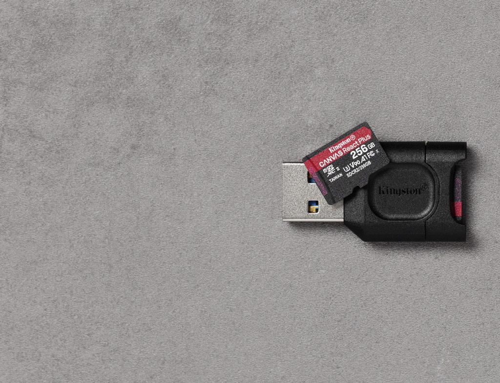 Canvas React Plus microSD