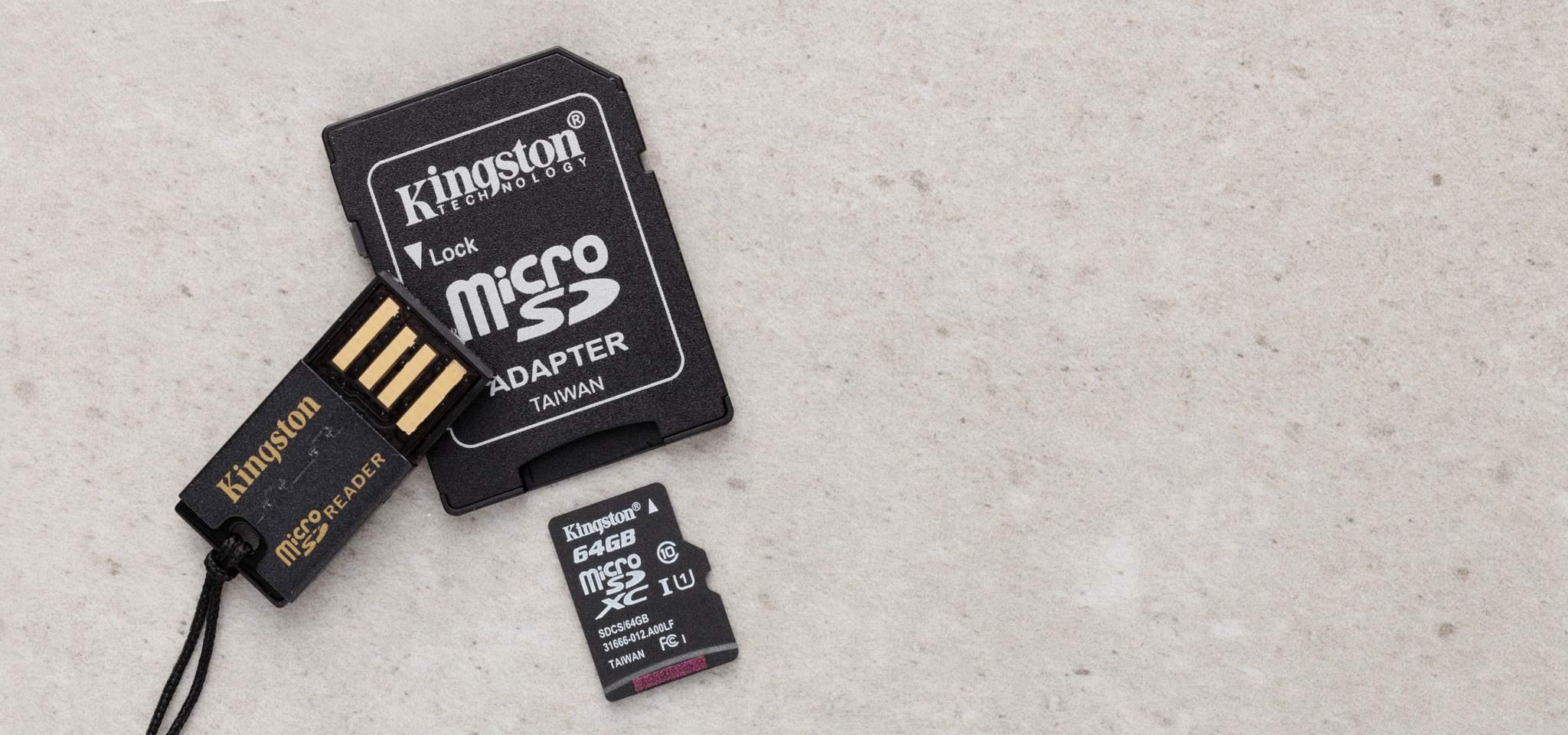 microSDHC/SDXC Mobility Kit