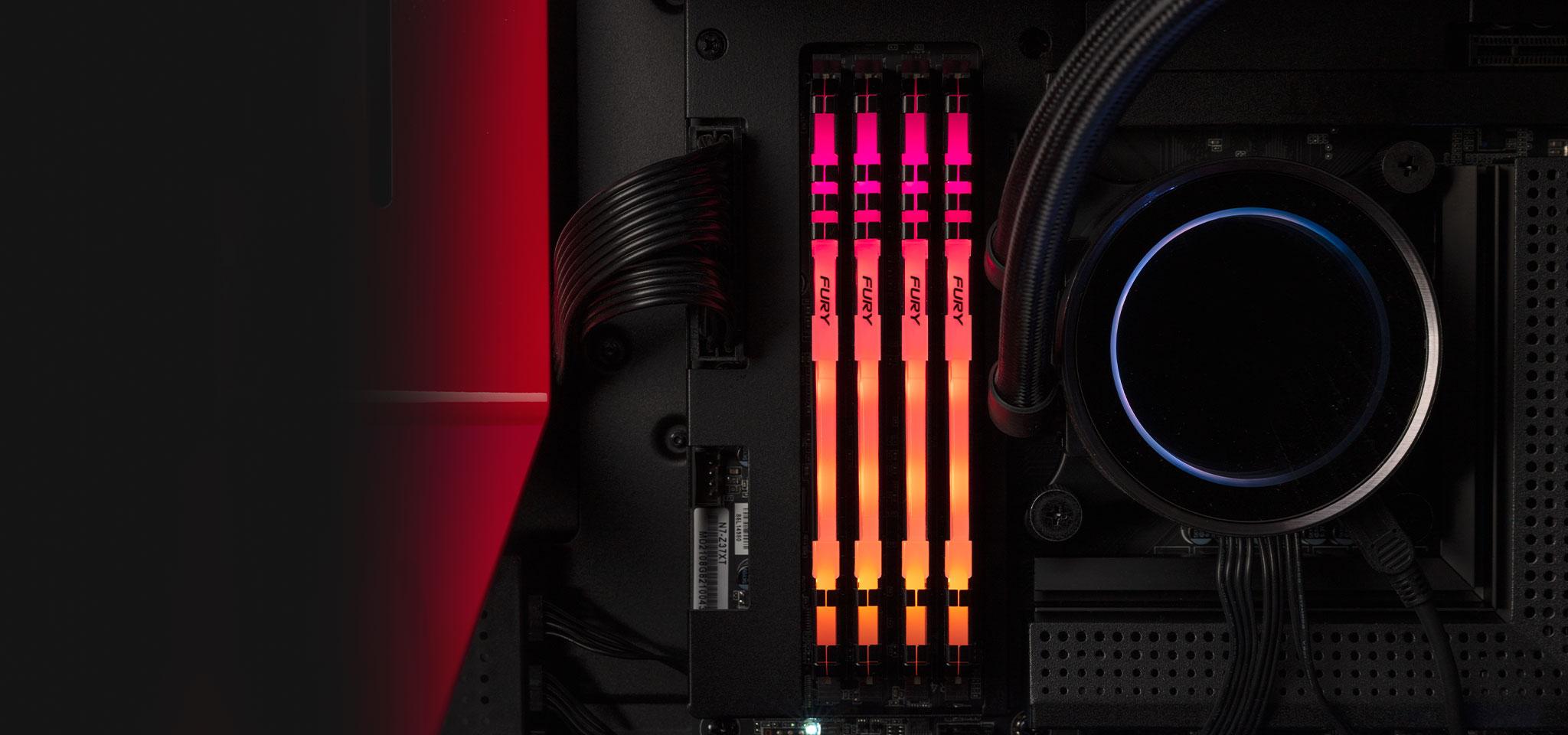 Kingston FURY Beast DDR4 RGB Memory