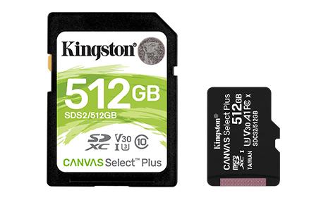microSD и SD: Canvas Select Plus