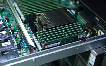 of DDR4-3200 Registered DIMMs