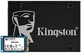 "KC600 2,5"" ve mSATA SSD"