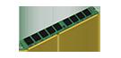 8GB DDR3 1333MHz ECC Unbuffered VLP DIMM