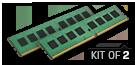 8GB Kit*(2x4GB) - DDR4 2133MHz