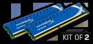 Genesis -  8GB Kit*(2x4GB) -  DDR3 1600MHz Intel XMP CL9 DIMM