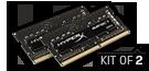 16GB DDR4 3200MHz Non-ECC Unbuffered SODIMM