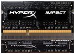 HyperX Impact SODIMM           -  8GB Kit*(2x4GB) -  DDR3 1600MHz  CL9 SODIMM