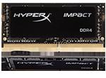 HyperX Impact SODIMM           -  32GB Kit*(2x16GB) -  DDR4 2933MHz  CL17 SODIMM