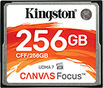 Canvas Focus CompactFlash 記憶卡