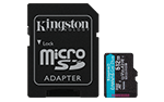 Carte mémoire microSD Plus Canvas Go!