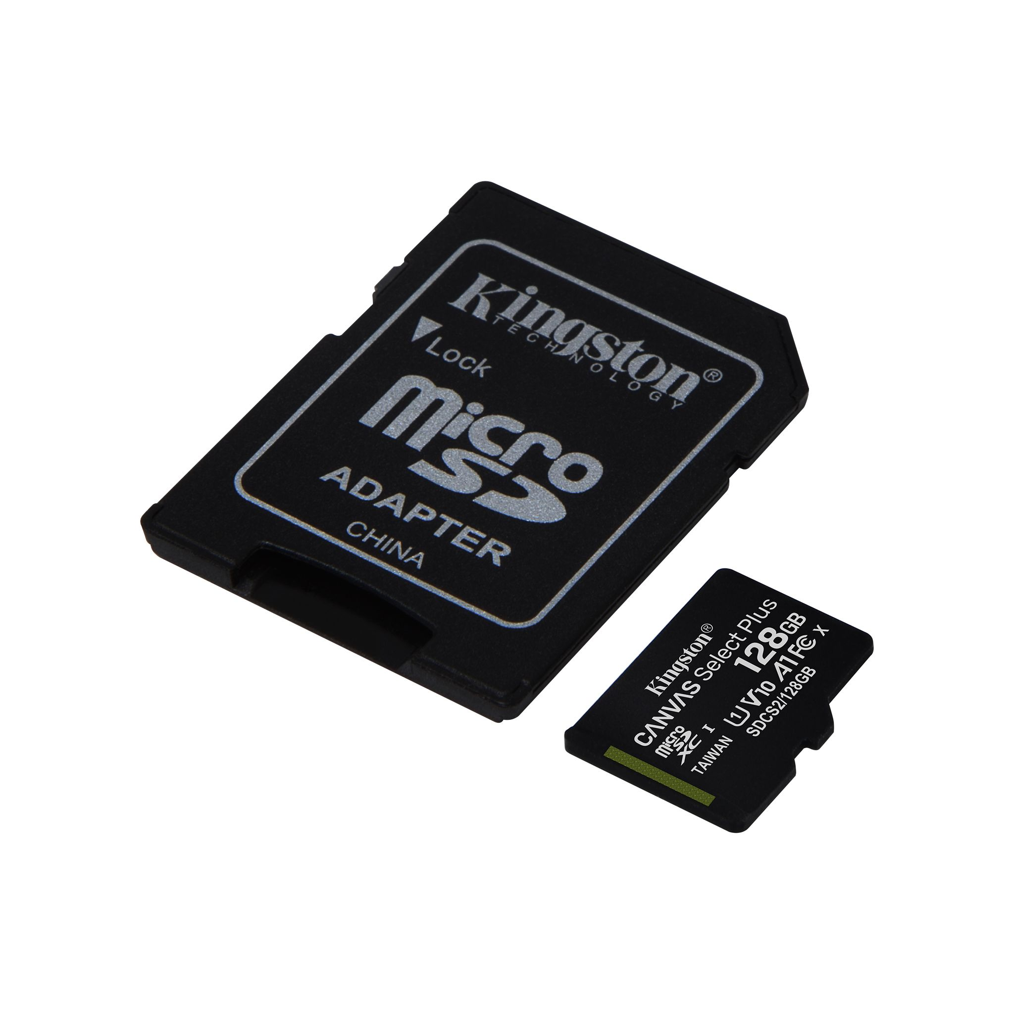 100MBs Works with Kingston Kingston 64GB Micromax A119 MicroSDXC Canvas Select Plus Card Verified by SanFlash.