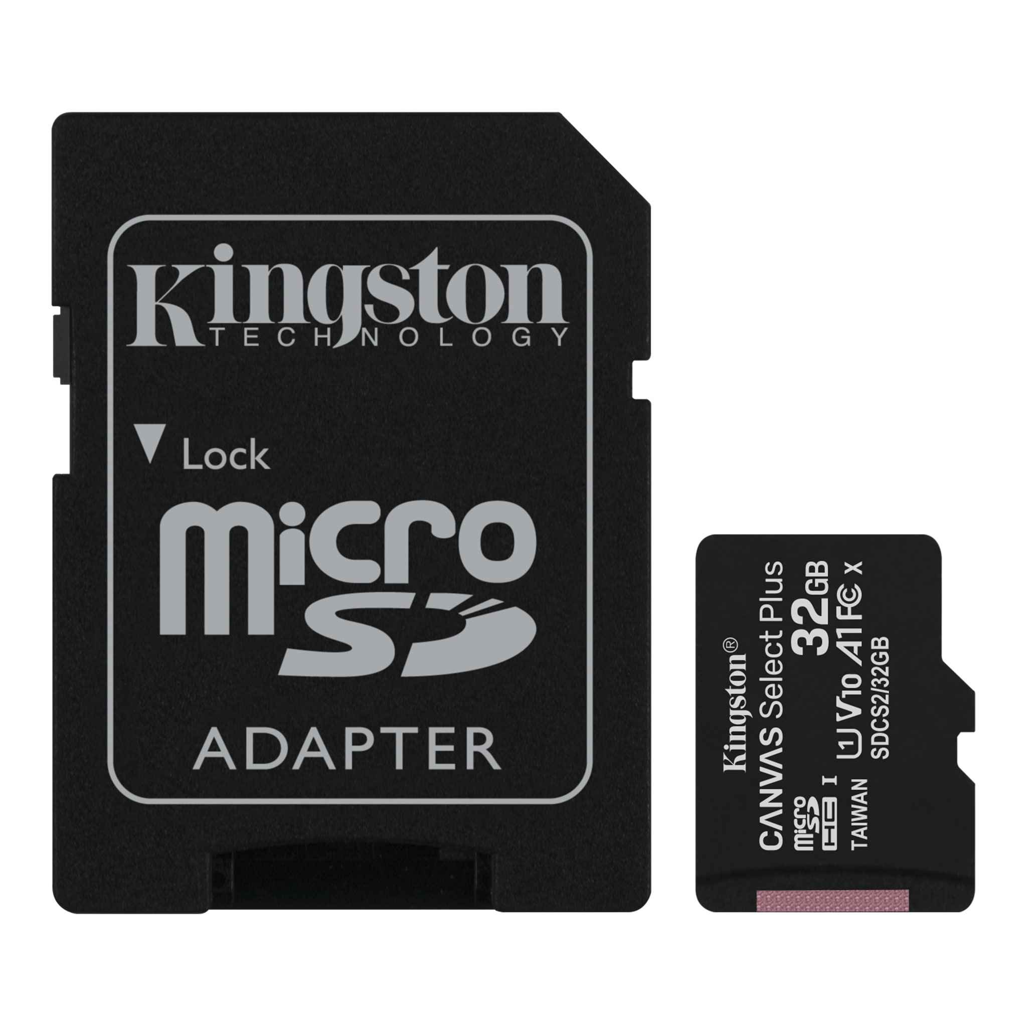 Kingston 32GB Canon PowerShot ELPH 310 HS Silver MicroSDHC Canvas Select Plus Card Verified by SanFlash. 100MBs Works with Kingston