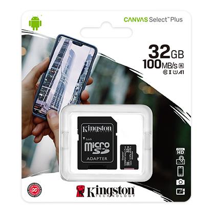 Kingston 16GB Canvas Select SDHC Class 10 UHS-I Flash Tarjeta de Memoria SD Card
