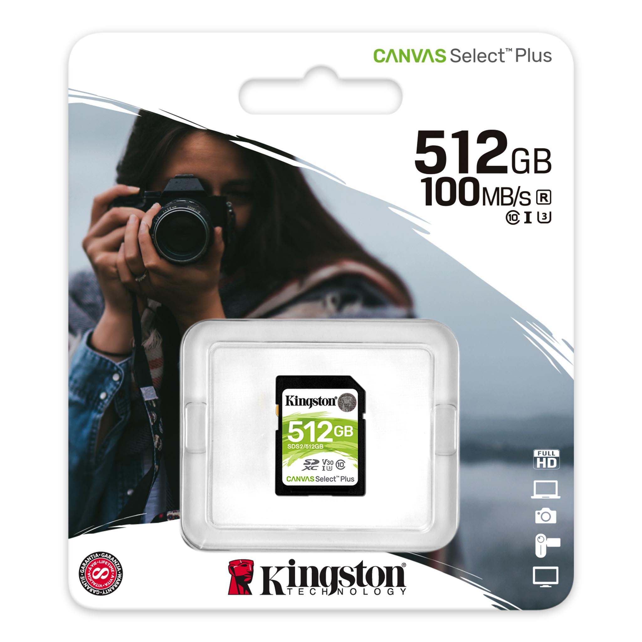 Kingston 64GB Samsung SM-G970 MicroSDXC Canvas Select Plus Card Verified by SanFlash. 100MBs Works with Kingston