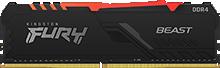 Kingston FURY Beast DDR4 RGB 메모리