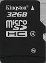 microSDHC Card - Class 4
