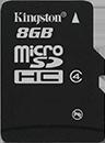 microSDHC Card - Class 4 - 8GB