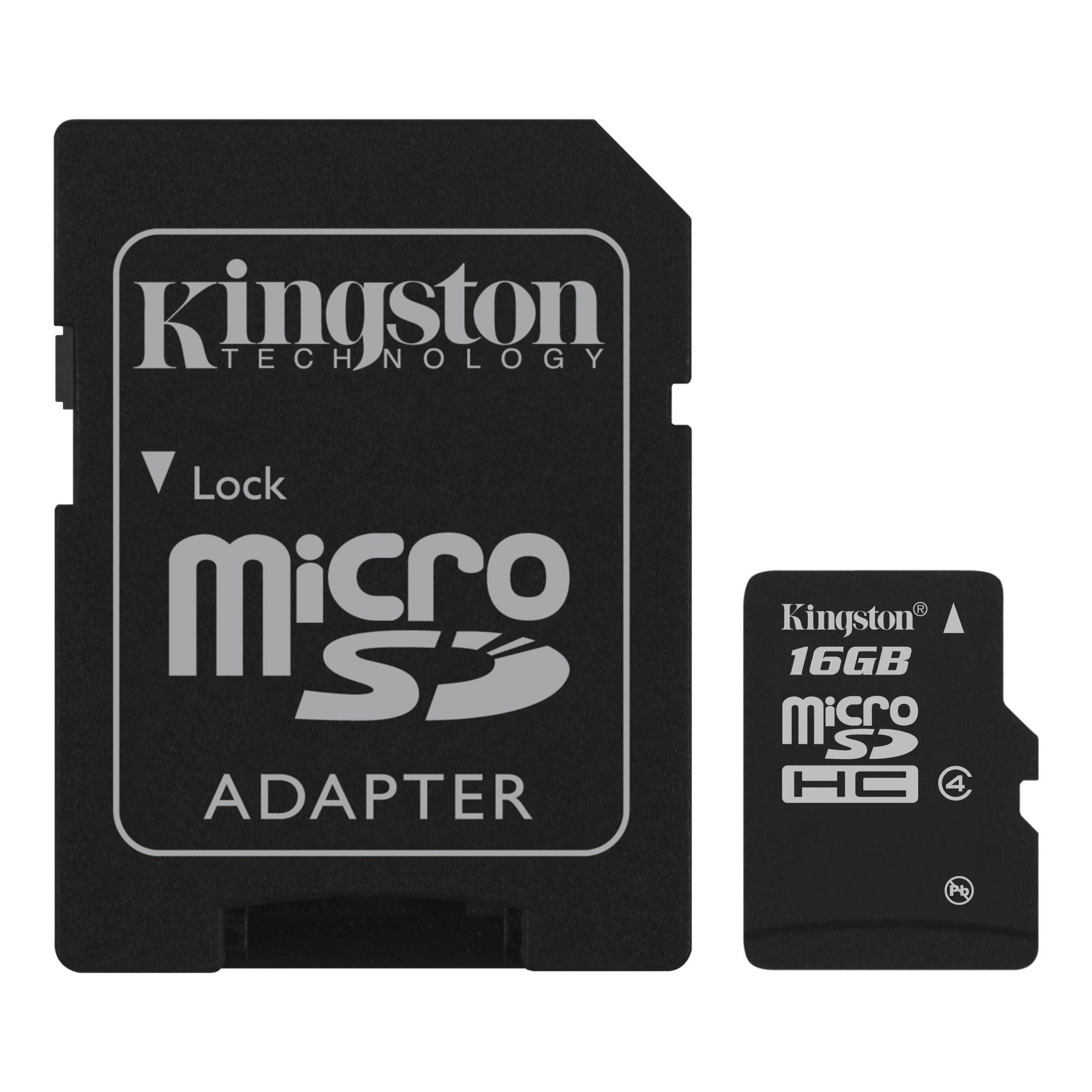 Micro Sd Karte 4gb.Microsdhc Class 4 Card With Optional Sd Adaptor