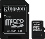 product microsd class4 sd adapter sdc432gb