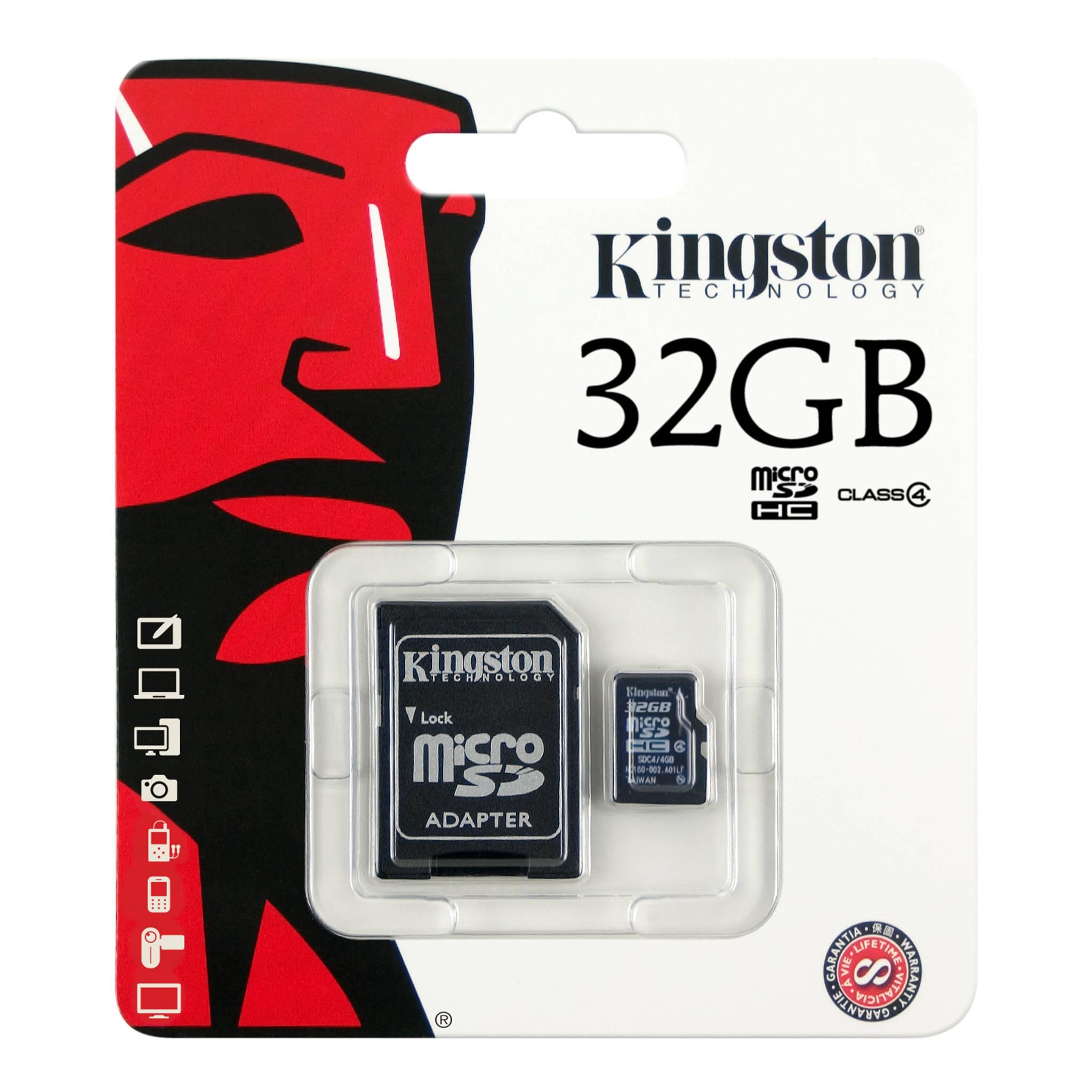 Frisk MicroSDHC Class 4 Card with Optional SD Adaptor OY-92