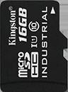 Industrial Temperature microSD UHS-I - 16GB