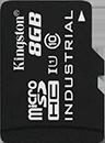 Industrial Temperature microSD UHS-I - 8GB