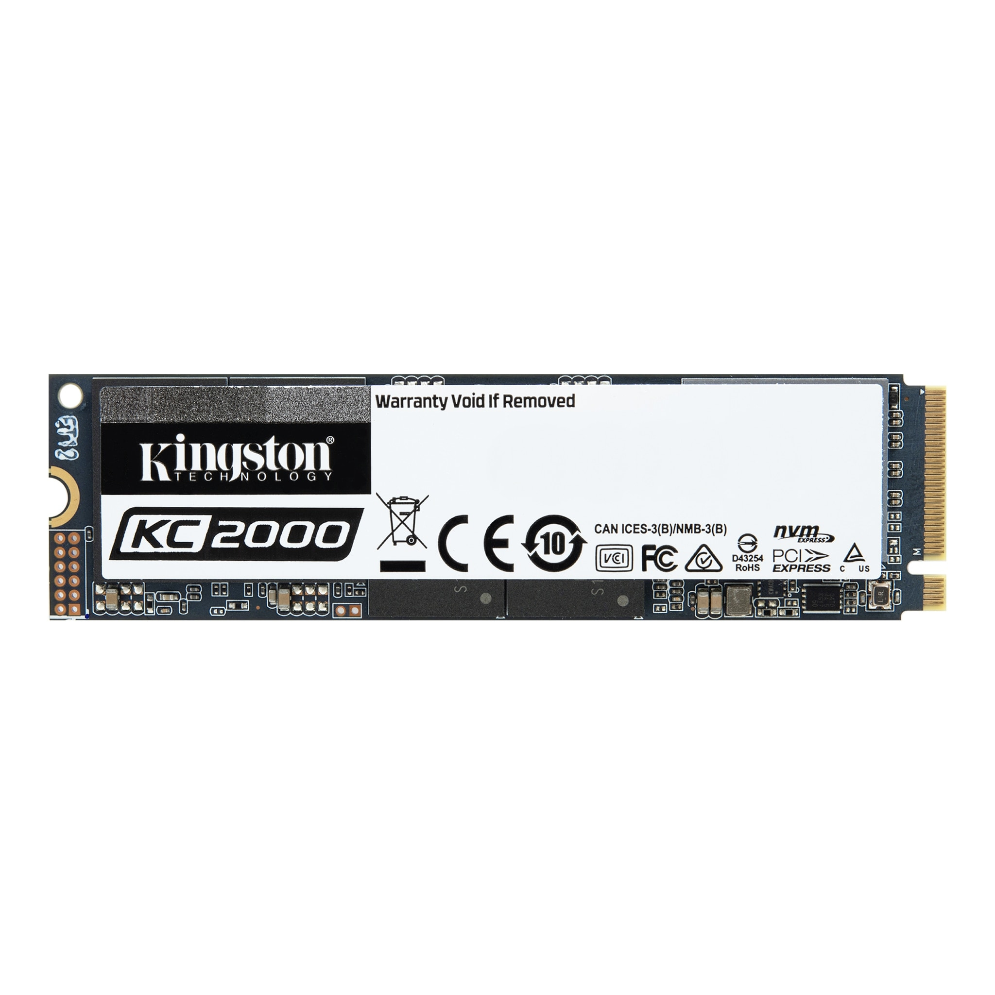 KC2000 Solid-State Drive (SSD) - M 2 NVMe 3D NAND – 250GB - 2TB
