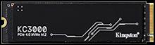 KC3000 PCIe 4.0 NVMe M.2 SSD
