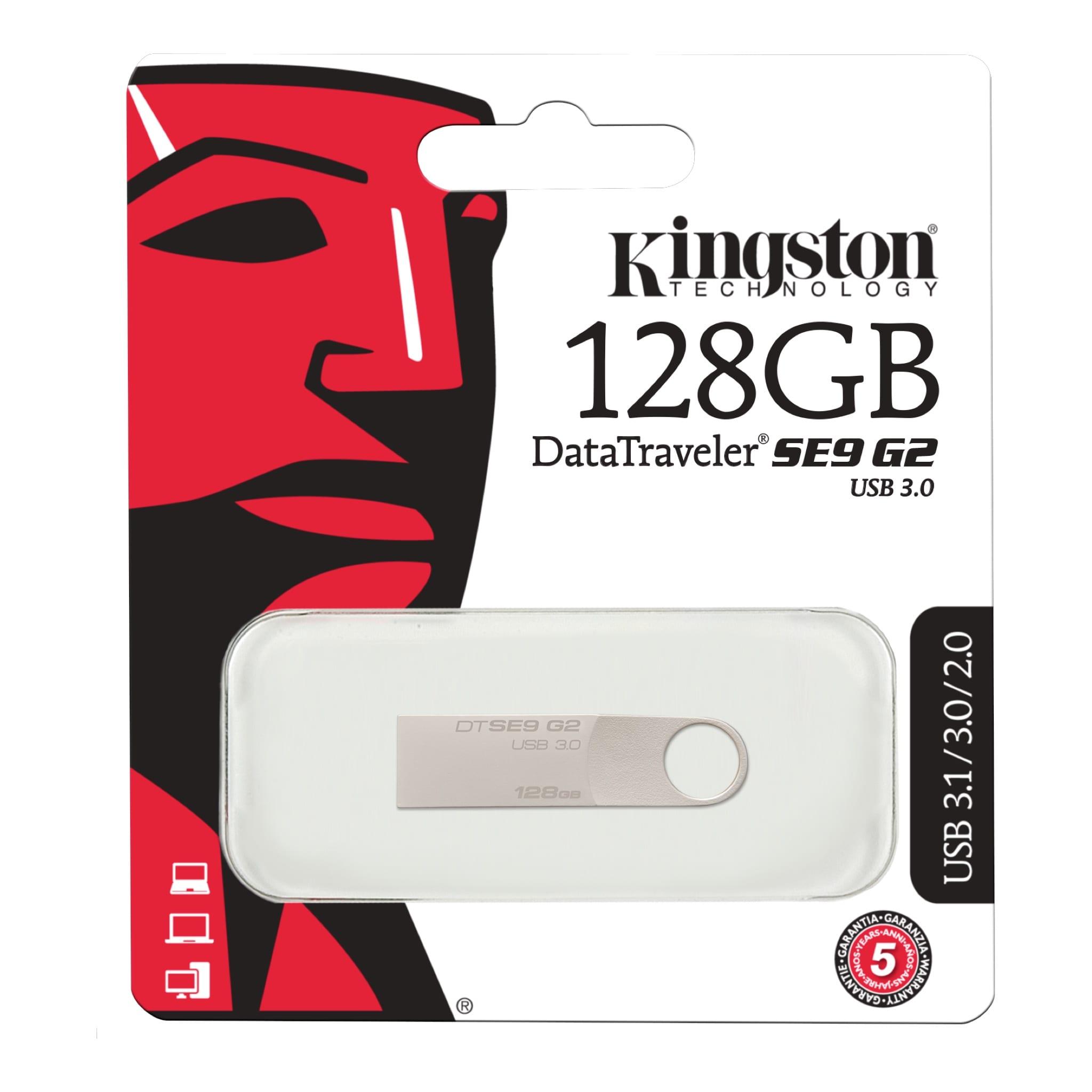 DataTraveler SE9 G2 USB 3 0 Flash Drive in Stylish Metal