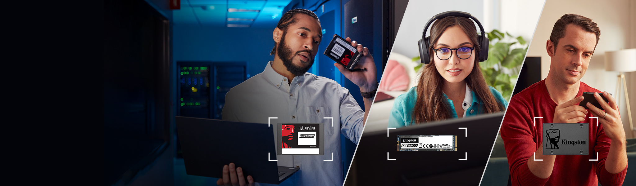 ノートパソコン、デスクトップ PC、サーバー用のソリッドステートドライブ (SSD)