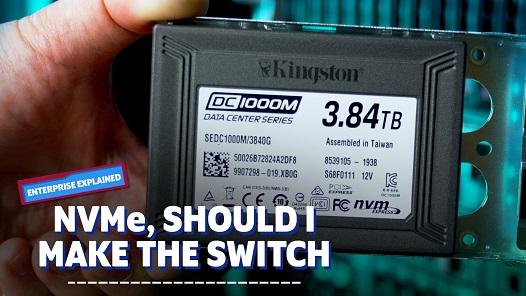 Kingston의 Cameron Crandall은 서버 스토리지를 NVMe SSD로 이동해야 하는지 판단하는데 도움이 됩니다.