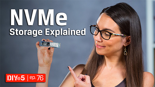 NVMe is still a relatively new technology that is changing what's possible with PCs.