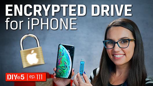 Podrá acceder a los datos cifrados de un iPad o iPhone con unidades Flash USB de Kingston.  Le enseñamos cómo...