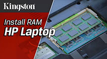 Upgrade your notebook memory – and your performance –in just a few steps.