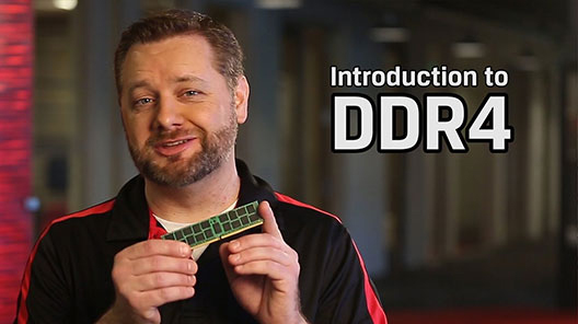DDR4 uses up to 40% less power than DDR3.  It may increase performance by 50% compared to DDR3.