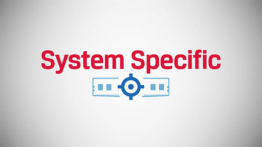 Kingston system-specific DRAM is made for your PC.  DRAM part search resultus are based on your PC model number.
