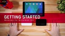 El MobileLite Wireless G2 y el MobileLite Wireless Pro son fáciles de utilizar. Aprenda cómo descargar la aplicación, conectarse al Wi-Fi, y más.