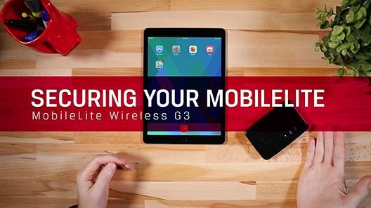 Agregue una contraseña para proteger sus datos, y aprenda cómo conectar su dispositivo a otras redes Wi-Fi.