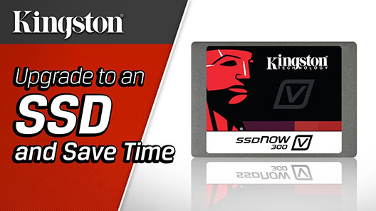 Upgrade to an SSD and your computer will boot up faster, launch apps faster, and transfer data faster to save you time.