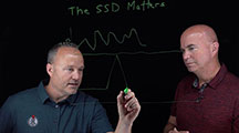 En este video de ChalkTalk, el analista líder de StorageSwiss George Crump y Cameron Crandall de Kingston Technology hablan sobre los discos SSD.