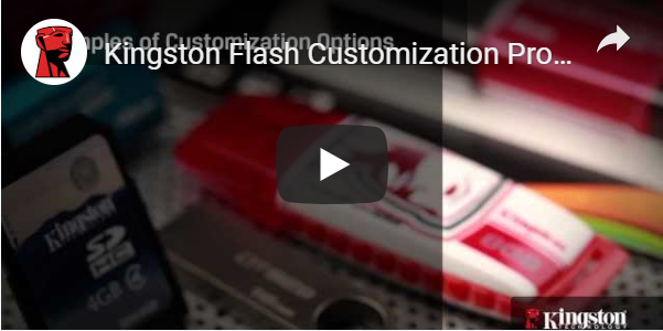 Kingston Flash Personalisierungsprogramm